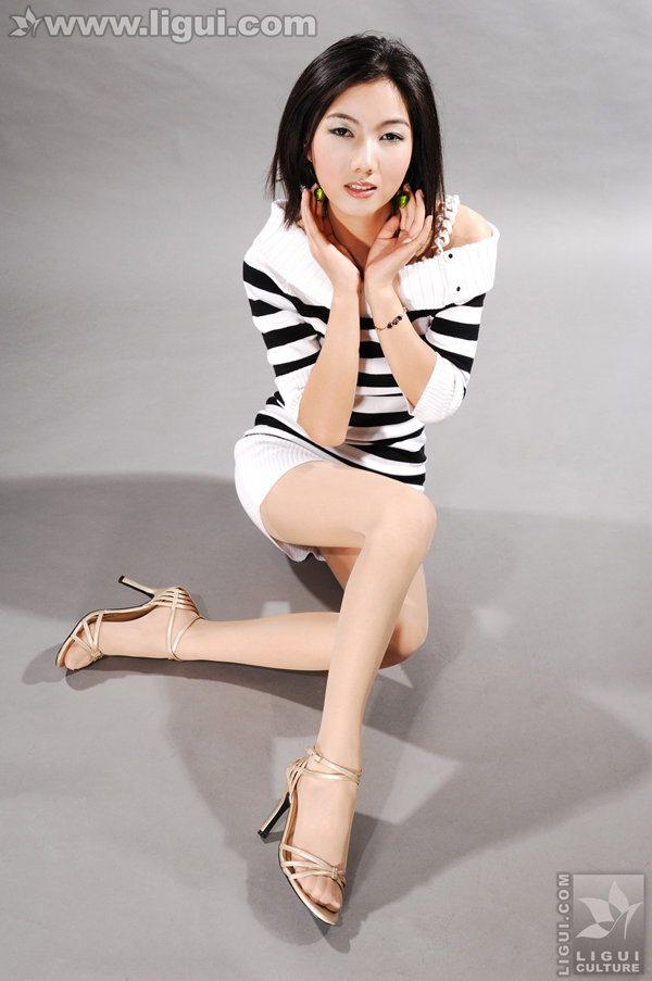 [Ligui丽柜]2009.11.30 穿斑马衫的漂亮女优 Model 丝丝[30P/22.6M]
