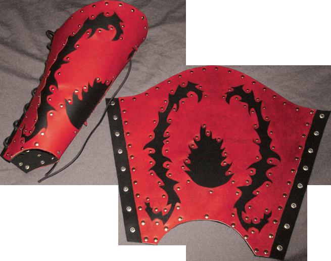 Armure Épique ! -Griffe Du Dragon Noir- Jambia%C3%8C%CB%86re.Flamme