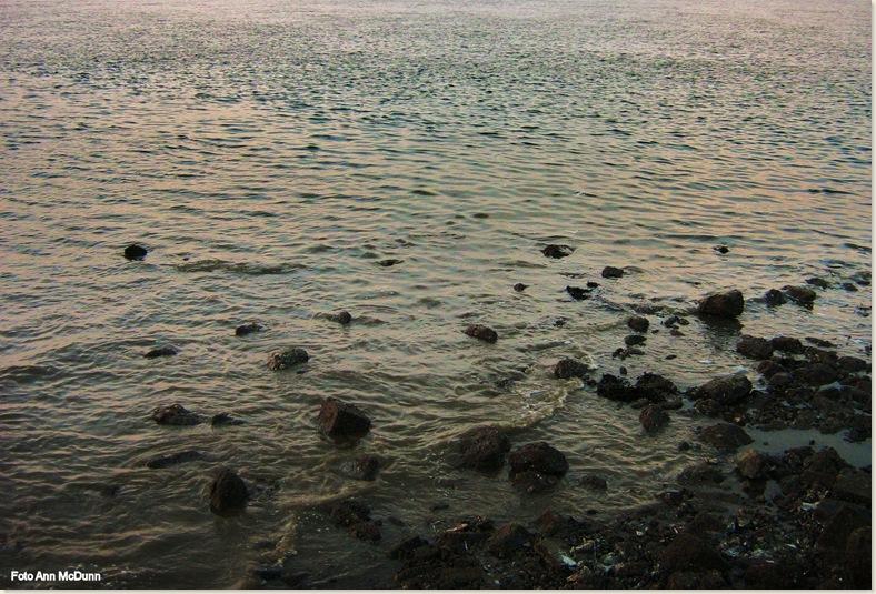 Waddenzee, het wordt eb. Zondag 27 juli 2008