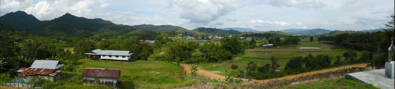 Borneo Malese, Bario, Kelabit Highlands
