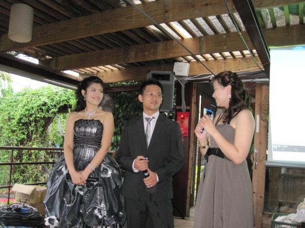 陳帥之與曹書綺婚禮