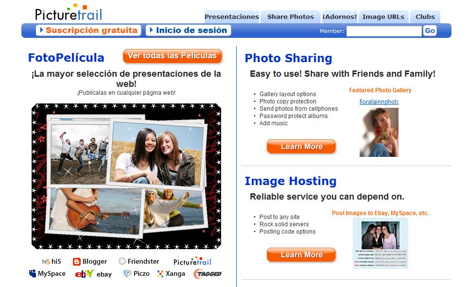 Tutorial crear Flash PictureTrail