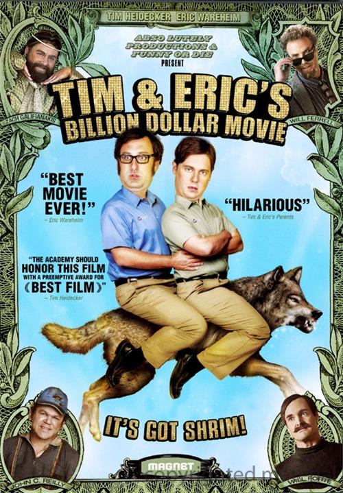 提姆和艾瑞克的十亿美元大电影 2012 美国搞笑喜剧