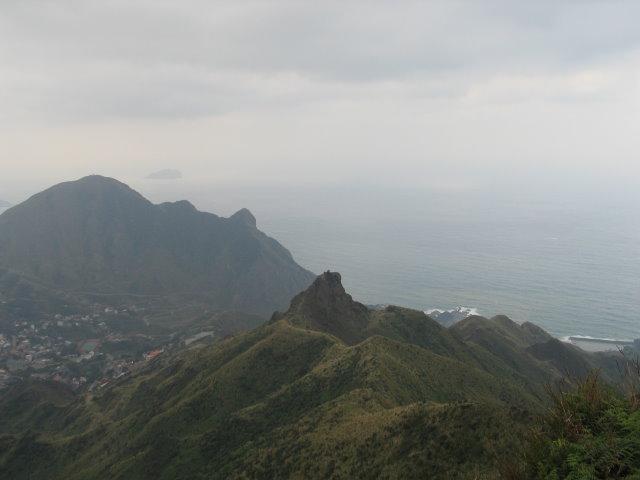 茶壺山稜線
