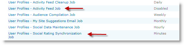 Configure Timer Job