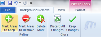 Office 2010 Word 2010 Background Removal Tool Undo