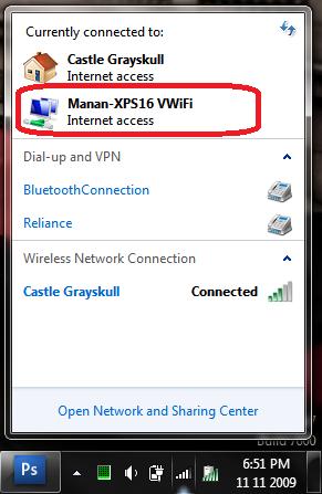 connect to virtual wifi vwifi windows 7 setup