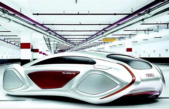IMAGEM - Veículo do futuro -