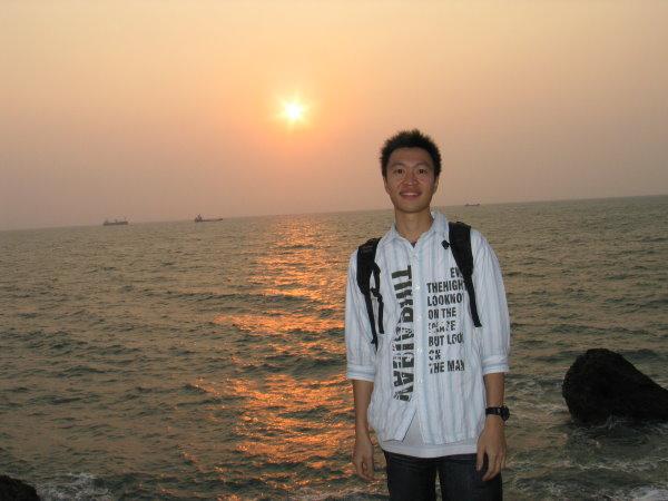西子灣夕陽西下