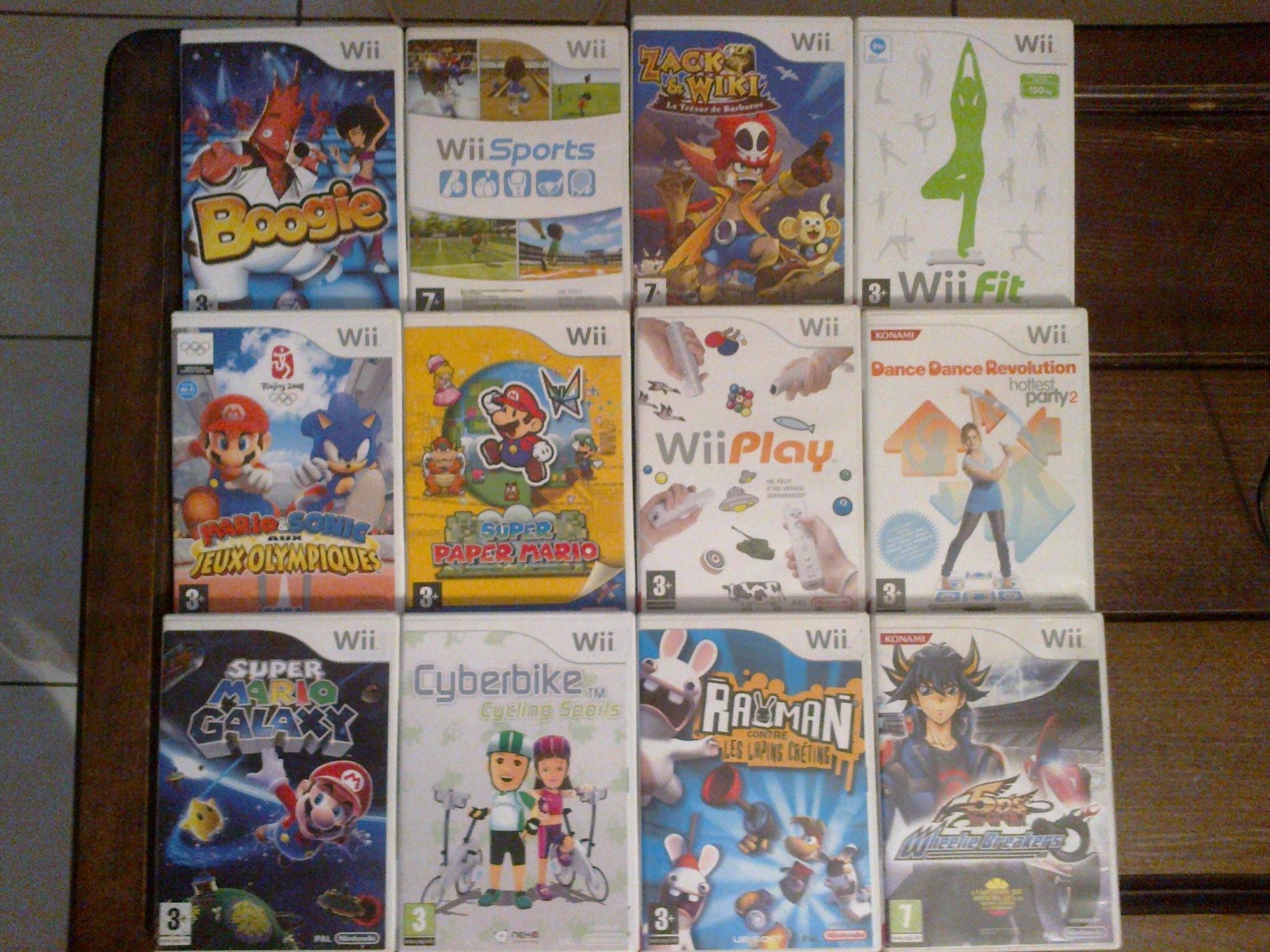 Ma Collection de Jeux vidéo Jeux%20Wii