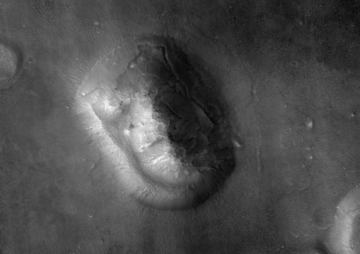 Face on Mars by MRO
