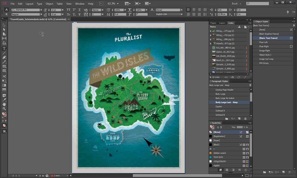 Adobe Indesign CC 2014 中文绿色精简破解版下载【32位+64位】