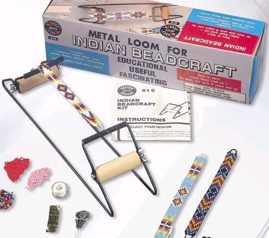تعلم الخرز اعمال فنية باستخدام النول اعمال فنية بالخرز Learn beads loom.jpg