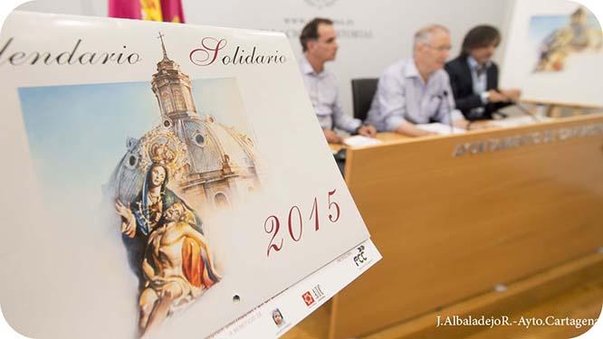 Cartagena por la Caridad edita un calendario solidario