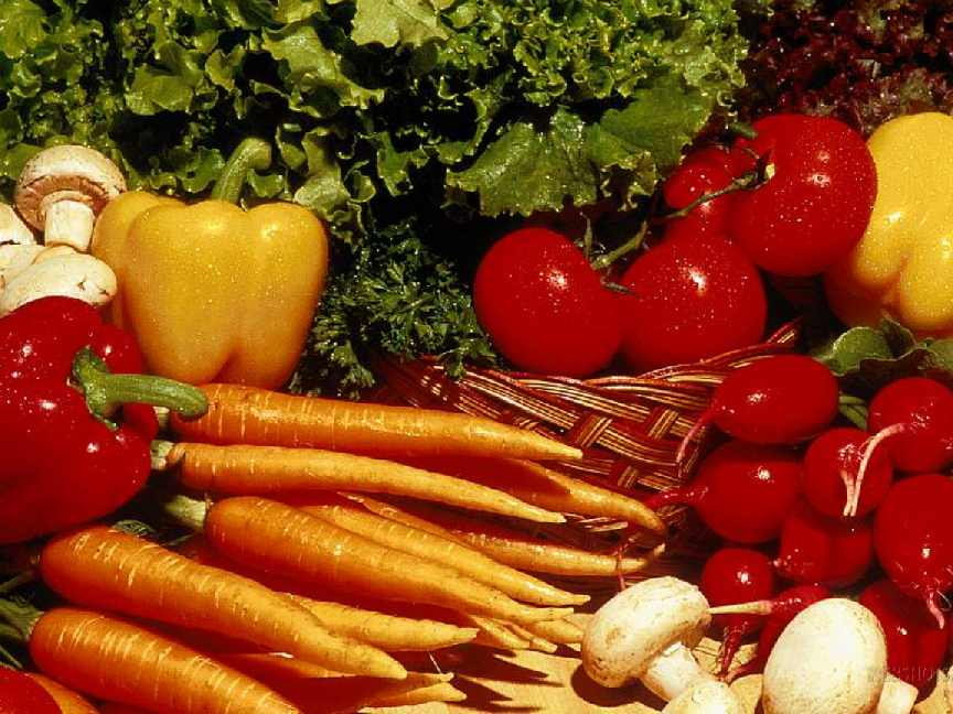 Vegetais alimentos saudavéis