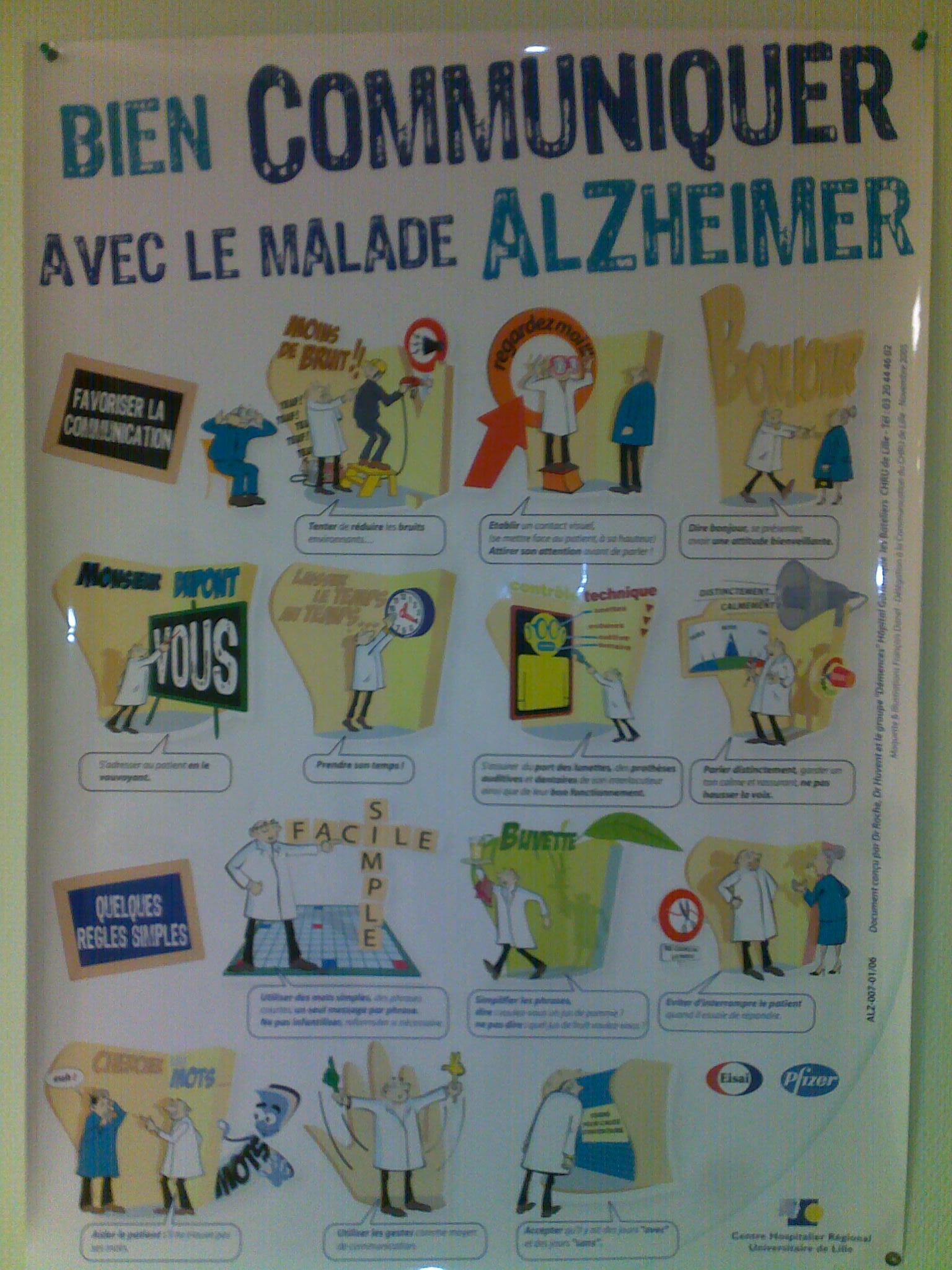 Bien communiquer avec le malade Alzheimer