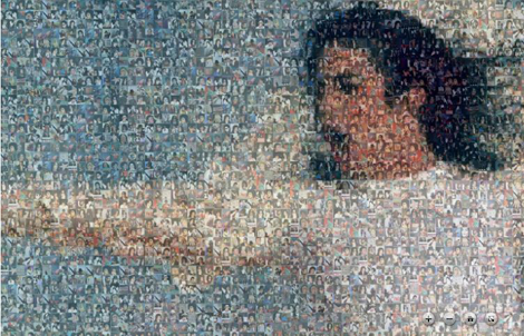Michael jackson Deep Zoom