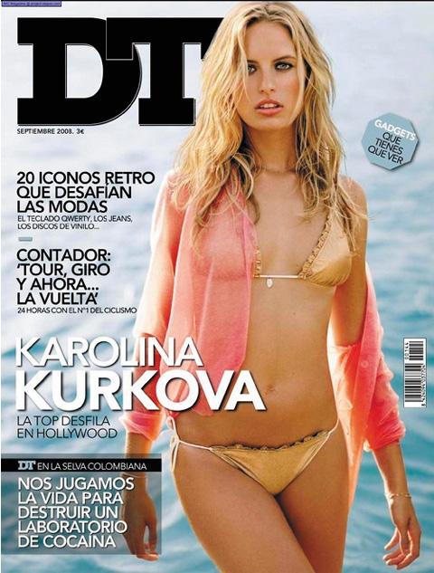 DT cover-Karolina Kurkova