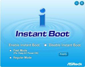 ASRock Instant Boot