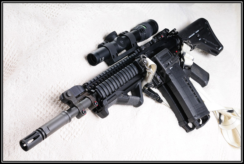 bushmaster acr 10.5 barrel. swapping out arrels.