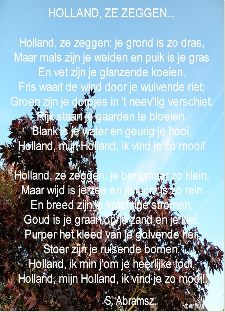 Gedicht S. Abramsz