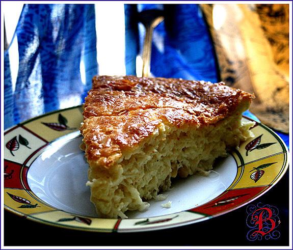 сырный пирог от бухгалтера