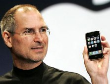 steve jobs & iphone