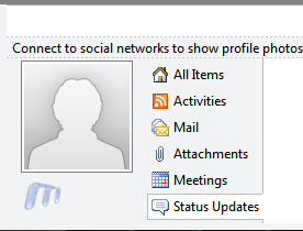 Office 2010 New Features Social networking update Status