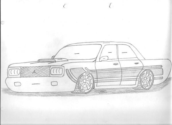 dibujos de autos de todo tipo