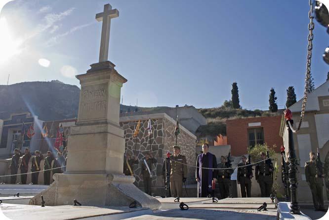 Los artilleros de Cartagena rinden homenaje a sus caídos