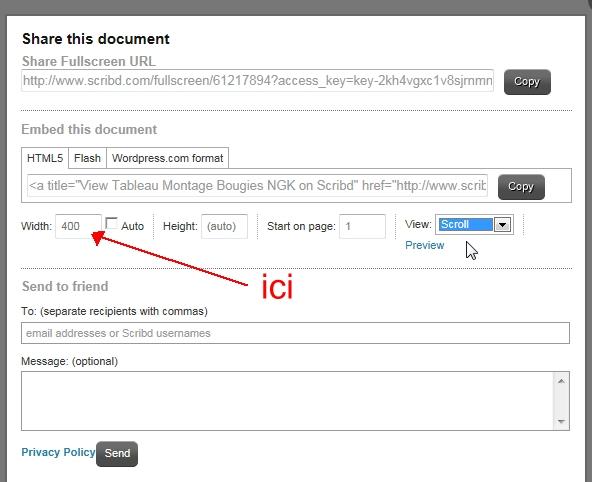 Didacticiel pour inserer un fichier PDF lisible dans un post Scribb%2011