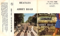 1969 Abbey Road UK Cassette Inlay