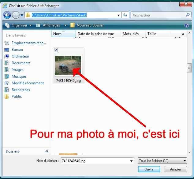 autre didacticiel pour poster des photos sur le forum P1P008