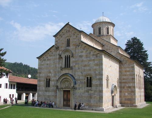 Resultado de imagen para Pinturas en el Monasterio de Decani,