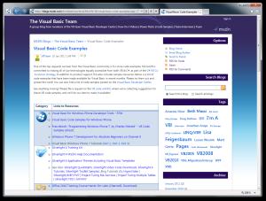 VB Team Blog - Visual Basic Code Examples
