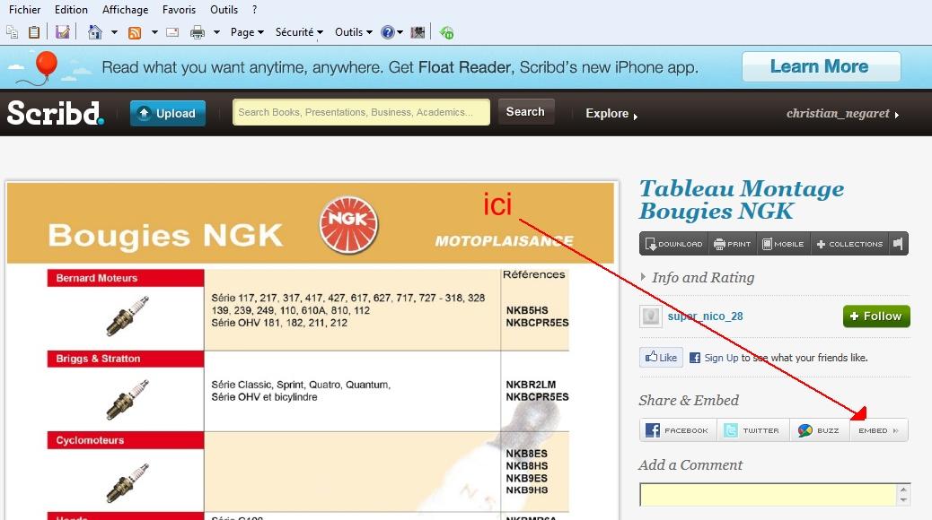 Didacticiel pour inserer un fichier PDF lisible dans un post Scribb%209
