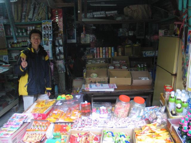 祈堂老街的柑仔店