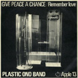 Give Peace a Chance UK single picture sleeve