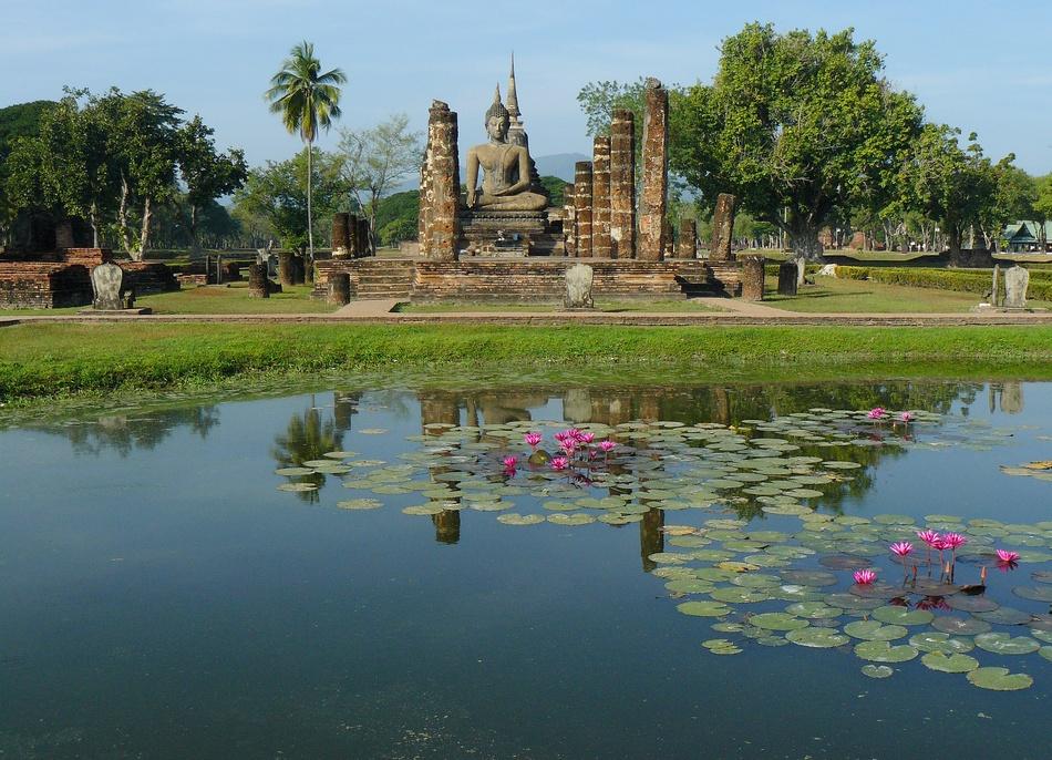 sukhothai,thailandia,foto di viaggi