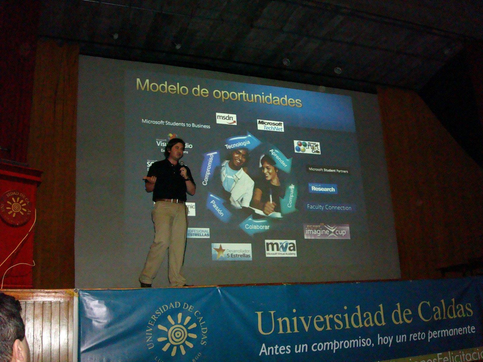Charla: Oportunidades de aprendizaje