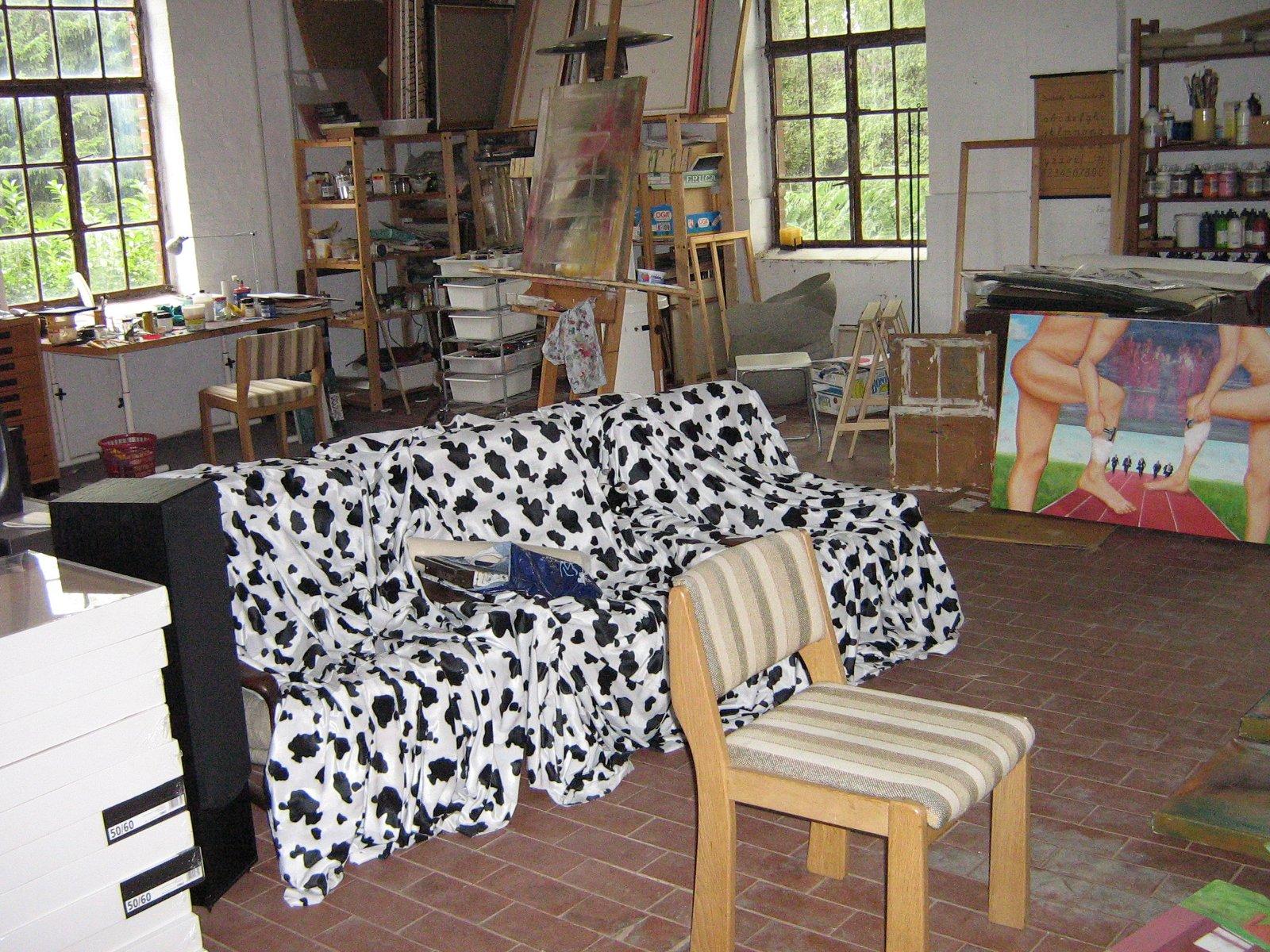 Atelier von Sabine Ehlers