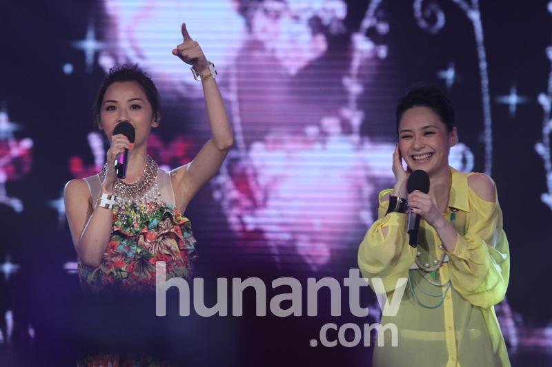 快乐大本营20120707英皇巨星来了 蔡卓妍 钟欣桐 容祖儿 古巨基