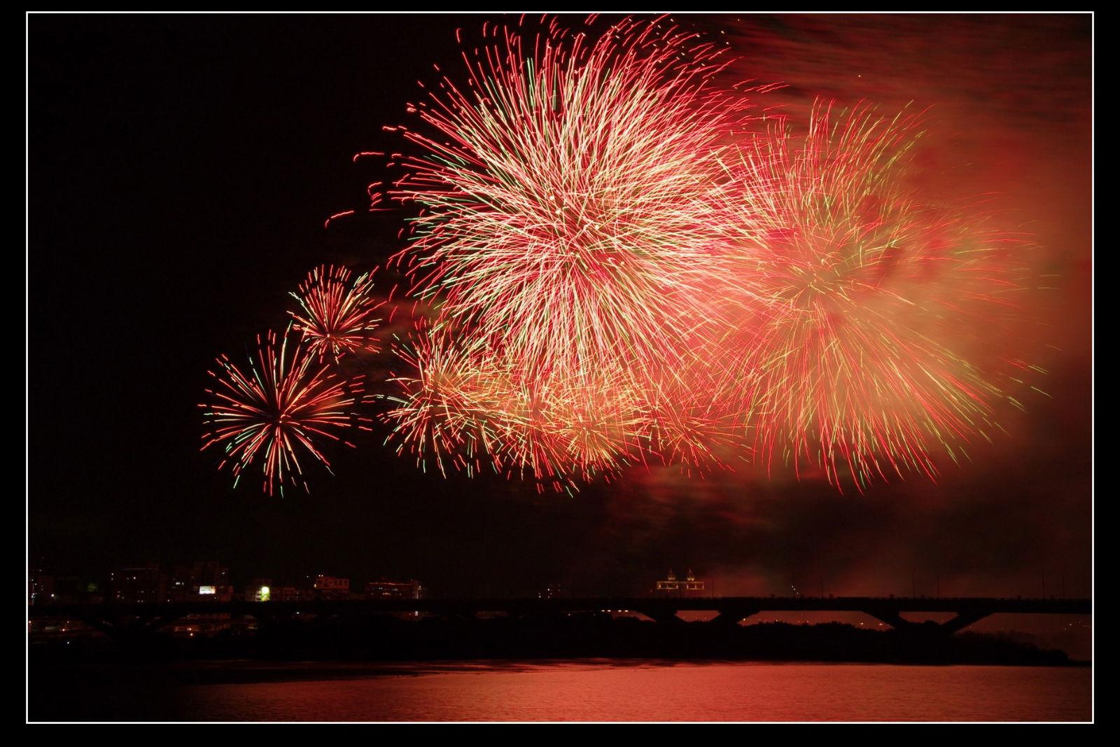 2010雙十國慶三號水門煙火秀