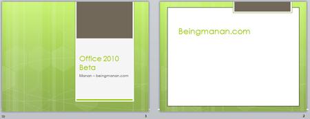 Office 2010 Powerpoint 2010 New Design Templates Austin