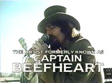 The Artist Formerly Known as Captain Beefheart