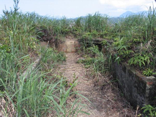 火號山與仙洞砲台