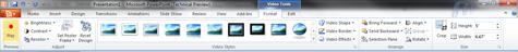 Office 2010 Powerpoint 2010 inser & edit videos