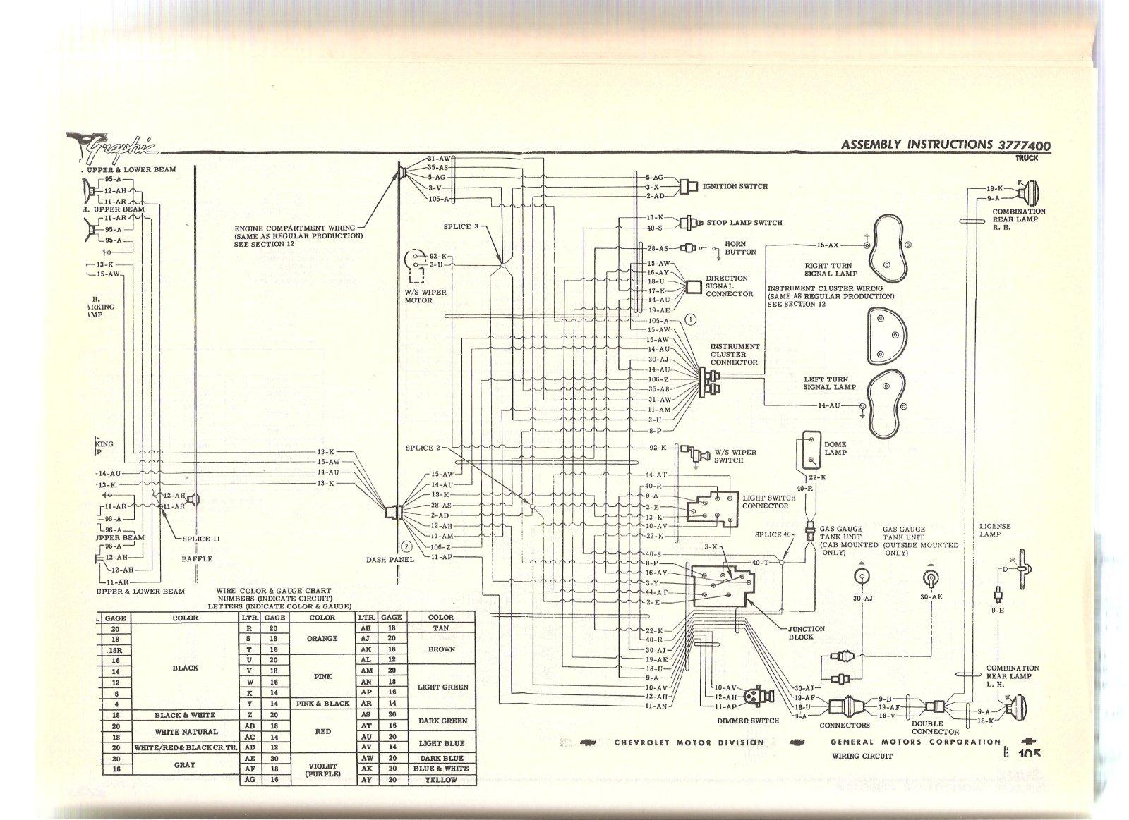 wiring diagram the present chevrolet gmc truck message here ya go