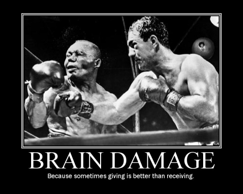 Brain Damage Demotivational