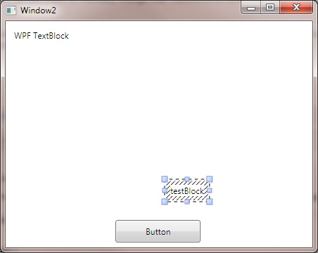 TextBlock on InkCanvas